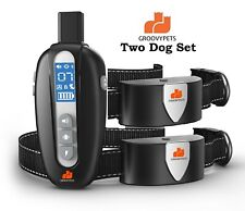 Remote Training Shock Collar Waterproof Trainer for Two Small Medium Large Dog