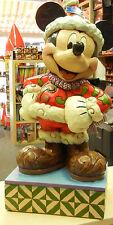 Disney enesco Shore Große Mickey Mouse Weihnachtsmann Merry Christmas 4039042