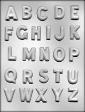 Alphabet Chocolate Candy Mold ABC School Soap Crafts