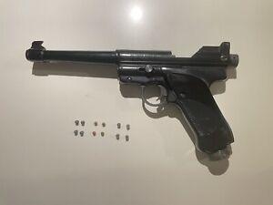 Crosman Crossman Mk II Target Air Gun/Pistol. .177 BB's & Pellets - Vintage.