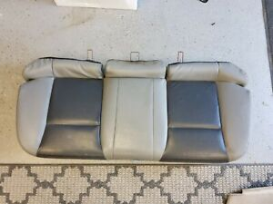 2008-2010 Dodge Avenger Rear LOWER Backseat Back Seat Cushion OEM GRAY LEATHER