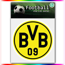 "Borussia Dortmund #1 UEFA Die Cut Vinyl Sticker Car Bumper Window 4""x4"""