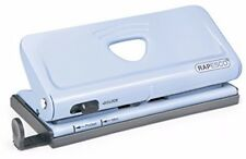 Rapesco Adjustable 6-Hole Organiser/ Diary Punch (Powder Blue) Brand NEW