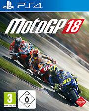 PS4 MotoGP 18 Moto GP 2018 Motorradrennen NEU&OVP Playstation 4 Paketversand