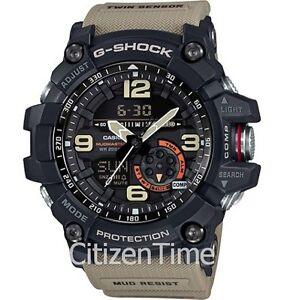 -NEW- Casio G-Shock Master of G Mudmaster Watch GG1000-1A5
