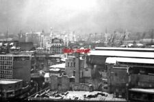 PHOTO  LONDON 1962 NORTH FROM NEW GUY'S HOUSE TO CITY - IN SNOW