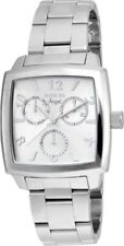 USED Invicta Women's Angel Silver Tone Dial Stainless Steel Bracelet Watch 21709