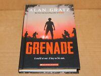 Grenade Book by Alan Gratz NEW - Hard Cover