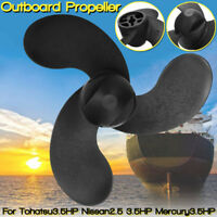 Durable Outboard Propeller For Tohatsu 3.5HP For Nissan 2.5 3.5HP / Mercury3.5HP