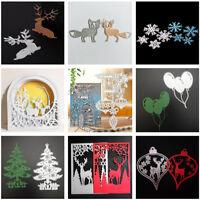 Multi Styles Metal Cutting Dies Stencil DIY Scrapbooking Card Decor Cxz