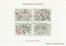 282497 / Flora gestempelt Block Monaco