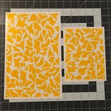 Splinter Camo Stencil Pack, for Duracoat, Cerakote, Krylon, Gunkote!