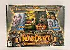 NEW SEALED WarCraft III Battle Chest Blizzard (PC, 2003) WIN MAC CD-ROM