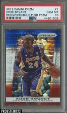2013-14 Panini Prizm Red White Blue Pulsar Kobe Bryant Lakers PSA 10 GEM MINT