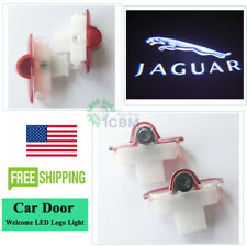 2x Led Door Lights Cree Laser Projector Logo HD 3D For JAGUAR XJ XK X351 X-TYPE