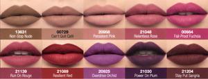Avon True Power stay liquid lip colour, 16 hours matte various shades, new