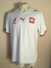 Poland national team Home football shirt 2007 2009 jersey white puma