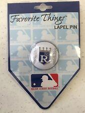 Kansas City Royals Baseball Lapel Hat Pin New On Card