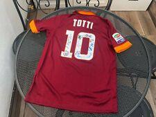 Maglia Calcio Originale Bambino Roma Totti 2014-15 Taglia L