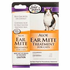 LM Four Paws Ear Mite Remedy for Cats  .75 oz