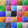 Neu Rocailles 4000er 2mm rainbow irisierend schimmernd Perlen Glasperlen DE*EN