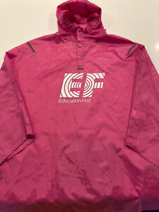 Rapha EF Education First Nipo Cycling Rain Poncho for Fans and Supporters OSFA