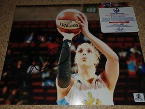 Elena Delle Donne Signed 8x10 Photo GA COA Sexy Auto WNBA Washington Mystics