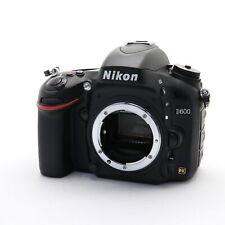 Nikon D600 24.3MP Digital SLR Camera Body -Near Mint- shutter count 16621 shots