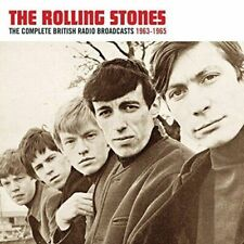 THE ROLLING STONES-THE COMPLETE RADIO BROADCASTS 1963-1965 DOUBLE CD NEW