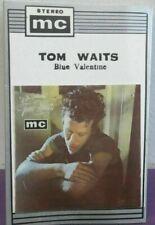TOM WAITS Blue Valentine  CASSETTE TAPE  INDONESIA ~ Vintage