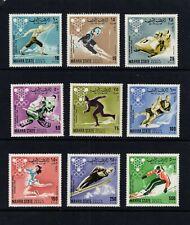 Aden (Mahra) #39-47  (1967 Grenoble Olympics) CV €7.50 ($11 cdn)