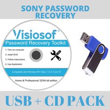 SONY Password Reset Recovery Password Removal USB DVD Windows VISTA 7 8 10