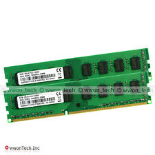 16GB KIT 2x8GB PC3-12800 DDR3-1600Mhz 240pin Desktop DIMM Memory For AMD Chipset