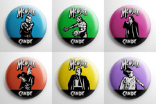Halloween - Monster Candy Pin Back Button Set