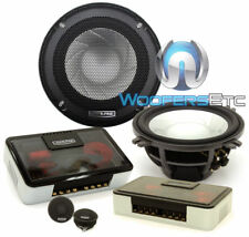 """ALPINE SPX-13REF 5.25"""" CAR COMPONENT SPEAKERS CROSSOVERS 1"""" DOME TWEETERS NEW"""
