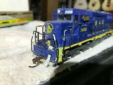 Atlas Austria 7015 Ho Scale Sd35 Diesel Custom B&O Paint, #7458