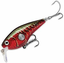 Rapala Clackin' Crank Red Crawdad (CNC53 RCW) Fishing Lure with VMC SureSet Hook