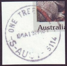 "SOUTH AUSTRALIA POSTMARK ""ONE TREE HILL"" CDS - DATED 13/3/1981  (A16817)"