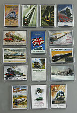 Railway History reproduced as Fridge Magnets inc Flying Scotsman Brighton Belle