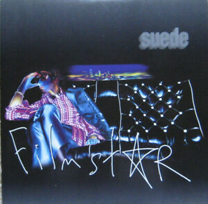 """Suede – Filmstar. 7"""". Picture Sleeve. Mint"""