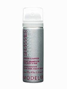 Modelco Shimmer Airbrush Illuminiser~Instant shimmer Face Body Hair 1.6oz /43 ml