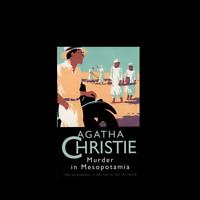 Murder in Mesopotamia by Agatha Christie FREE SHIPPING a paperback book