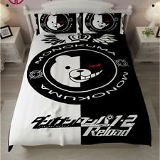 Danganronpa Monokuma Bear Bedding Bedspread Sheet Pillowcase Anime Cover Case