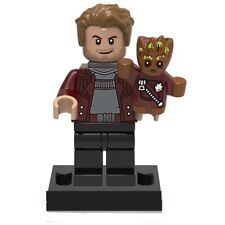 Guardians Of The Galaxy 2 Custom Mini Figures - Star Lord And Baby Groot