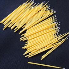 Disposable Dental Materials Tooth Applicators Medium MicroBrush 100pcs yellow