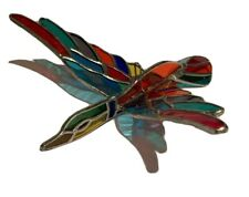Flying Duck -Stained Glass-Handmade, sun-catcher - 8�X 7� inc Multicolor