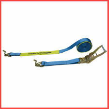10 X (50MM X 9M X 2500KG) Heavy Duty Ratchet and Strap