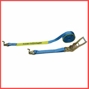 2 X (50MM X 9M X 2500KG) Heavy Duty Ratchet and Strap