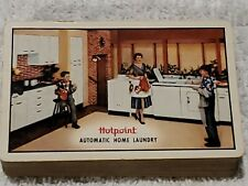 Vtg Playing Cards Hotpoint Appliances Automatic Home Laundry Brown & Bigelow USA