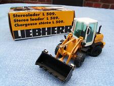 Cargadora de ruedas Liebherr L 510 estéreo rápida NZG 1:50 nuevo metal OVP #743 01